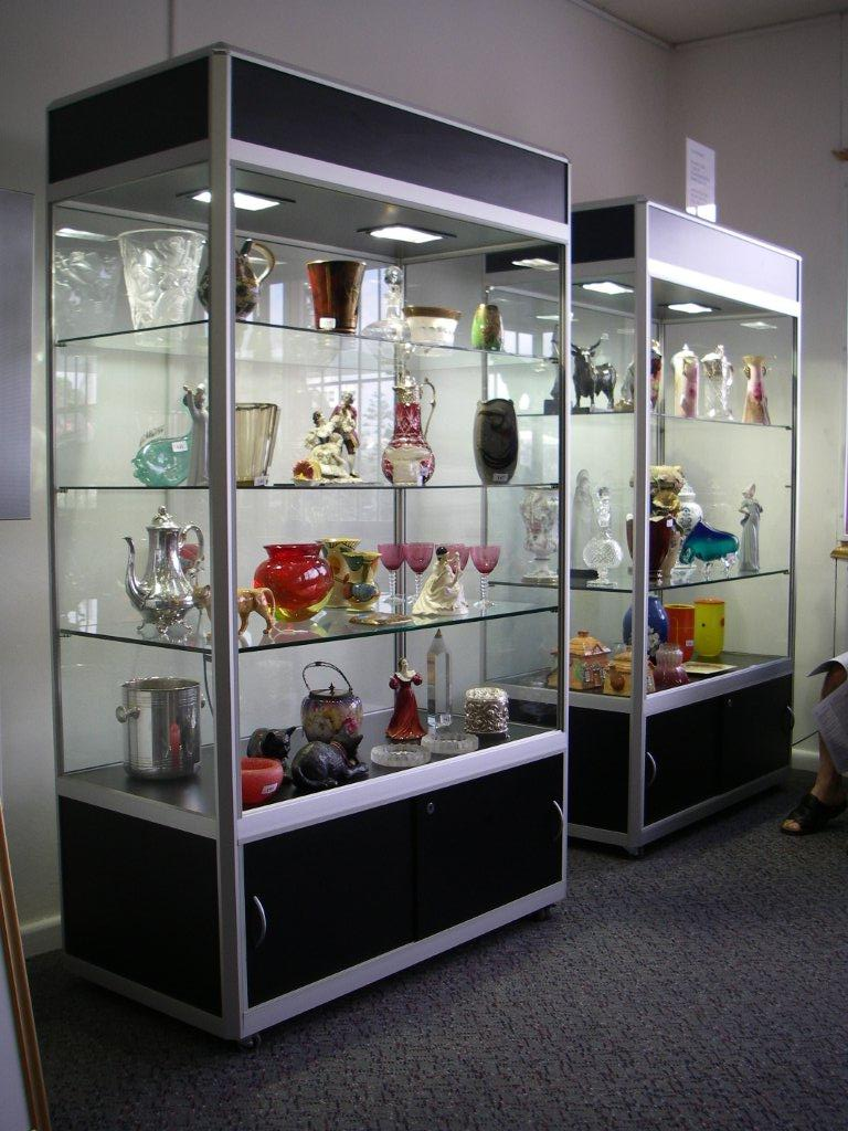 D Exhibition Model : Showcases and display cabinets gallery showcase