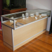 LED Lighting Is Used To Create The Perfect Visual Display. Showcase And  Display Glass Counter Cabinets ...