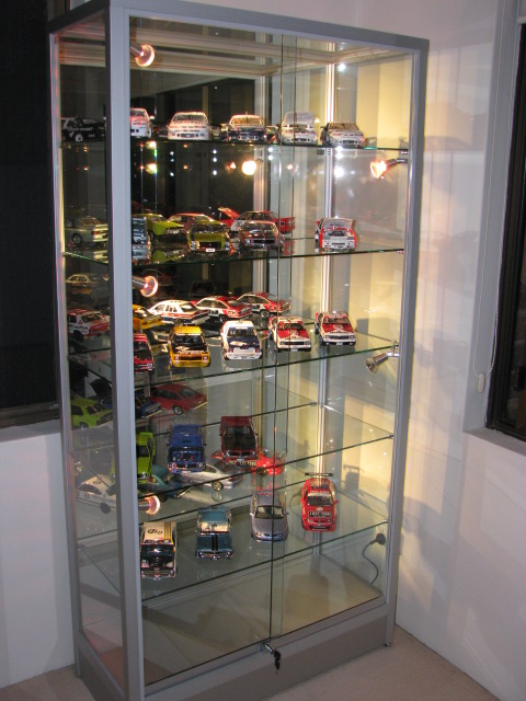 Glass Display Cabinet Showcases: - Trophy Display Cabinets